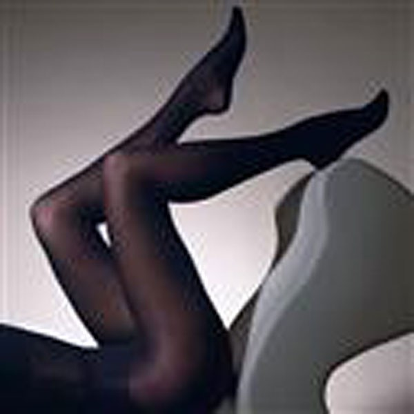 """Gipsy 60 Denier Black Luxury Opaque Tights (Up To 60"""" Hips) 1Pr Pack"""