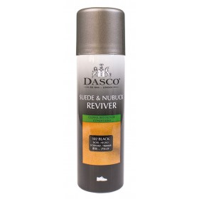 Dasco Black Suede & Nubuck Reviver Aerosol Spray 200ml | Ladies Larger Sized Shoes