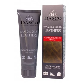 Dasco Tube Of Waxed & Oiled Leathers Replenisher Cream 75ml | Ladies Larger Sized Shoes